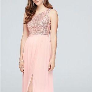 Dresses & Skirts - Rose gold and blush dress